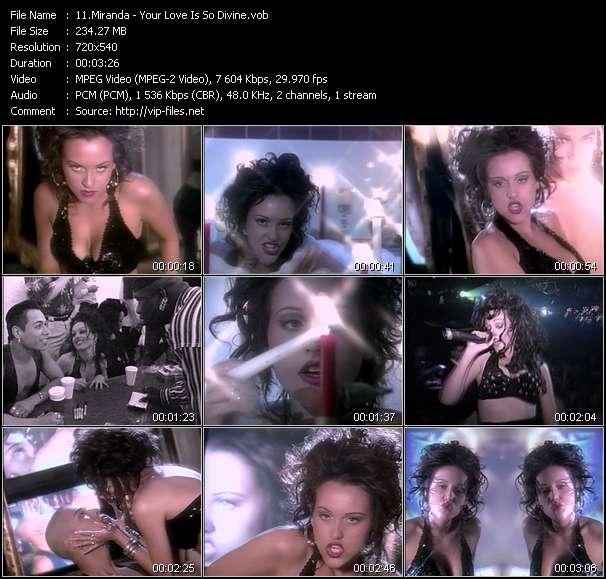 Miranda - Your Love Is So Divine