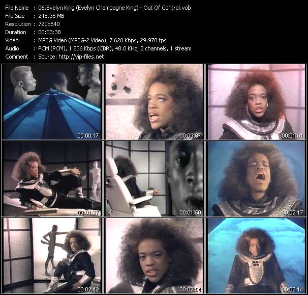 Evelyn King (Evelyn Champagne King) - Out Of Control