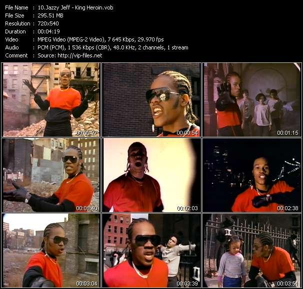 Jazzy Jeff - King Heroin