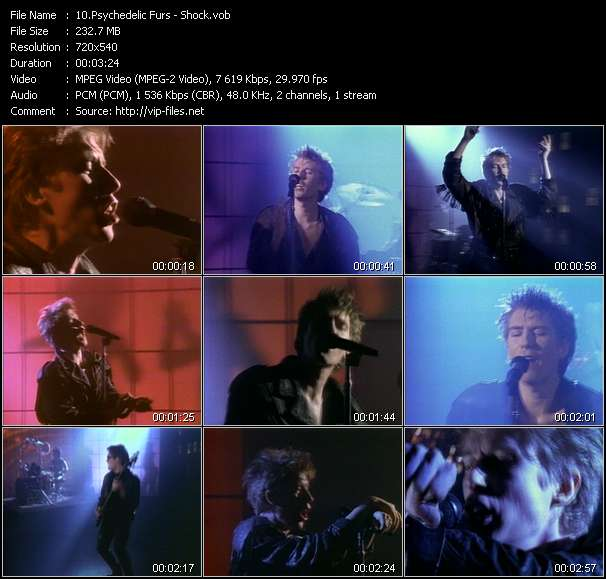 Psychedelic Furs - Shock