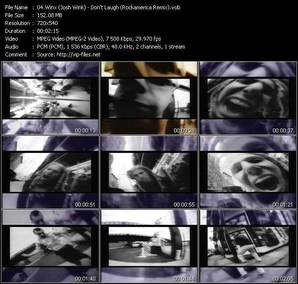 Winx (Josh Wink) - Don't Laugh (Rockamerica Remix)