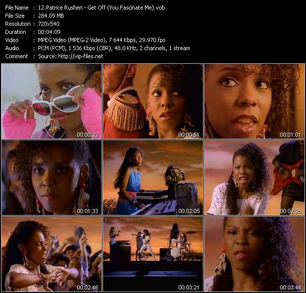 Patrice Rushen - Get Off (You Fascinate Me)