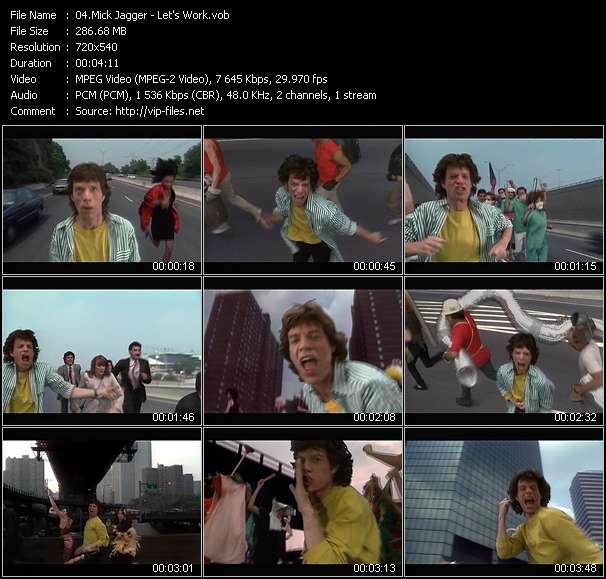 Mick Jagger - Let's Work