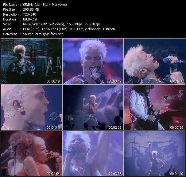 Billy Idol - Mony Mony