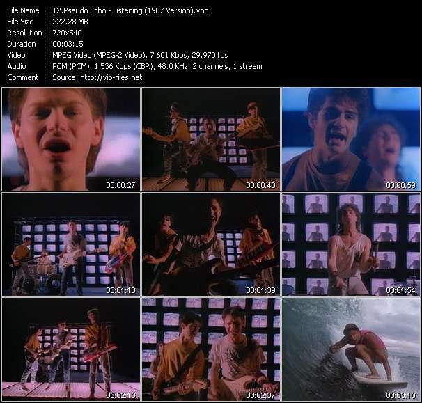 Pseudo Echo - Listening (1987 Version)