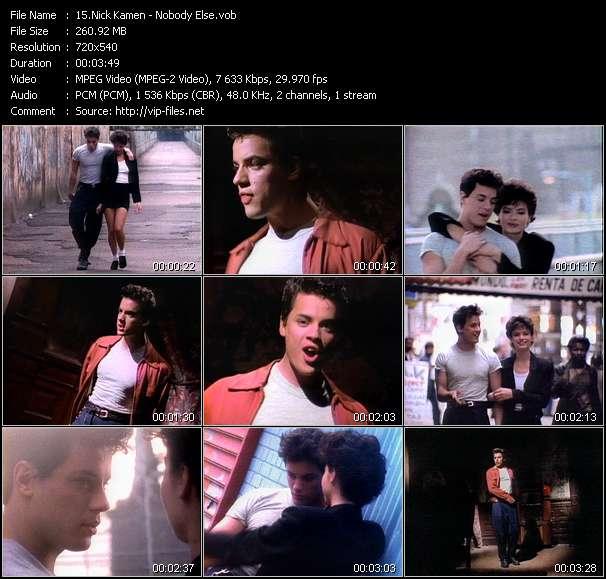 Nick Kamen - Nobody Else