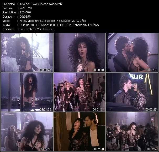 Cher - We All Sleep Alone