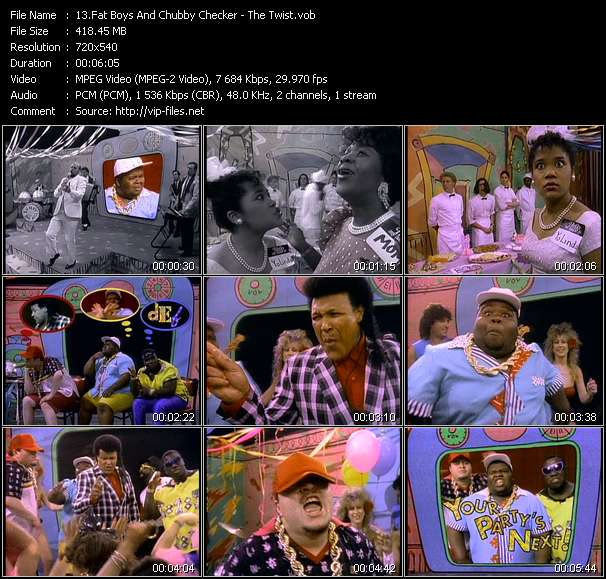 Fat Boys And Chubby Checker - The Twist