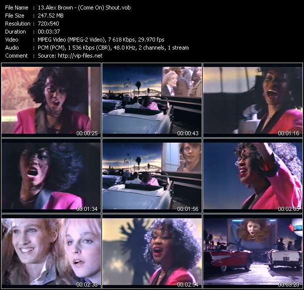 Alex Brown - (Come On) Shout
