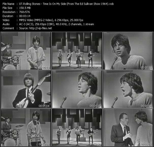 Rolling Stones - Time Is On My Side (From The Ed Sullivan Show 1964)