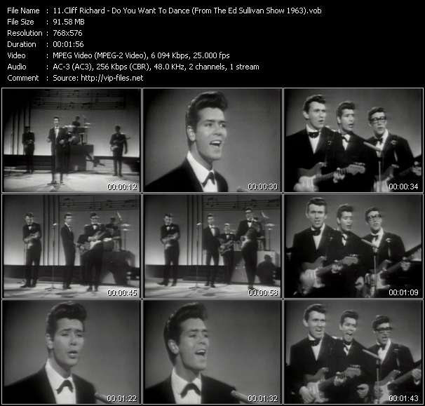 Cliff Richard - Do You Want To Dance (From The Ed Sullivan Show 1963)