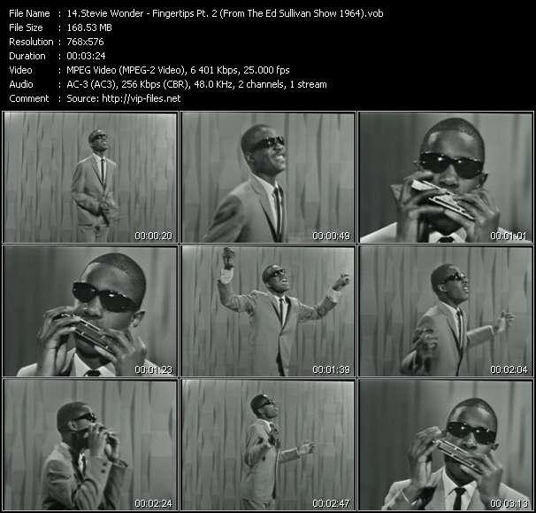 Stevie Wonder - Fingertips Pt. 2 (From The Ed Sullivan Show 1964)