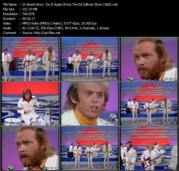 Beach Boys - Do It Again (From The Ed Sullivan Show 1968)