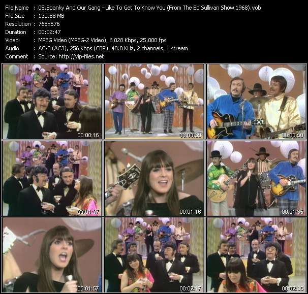 Spanky And Our Gang - Like To Get To Know You (From The Ed Sullivan Show 1968)