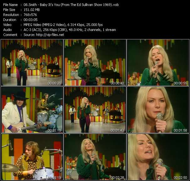 Smith - Baby It's You (From The Ed Sullivan Show 1969)
