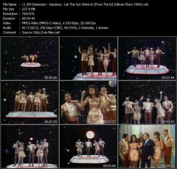 5th Dimension - Aquarius - Let The Sun Shine In (From The Ed Sullivan Show 1969)