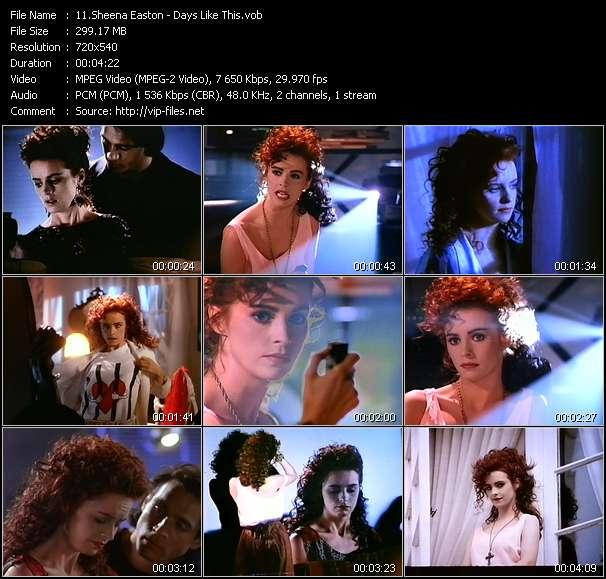 Sheena Easton - Days Like This