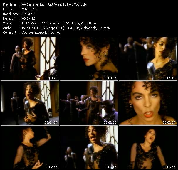 Jasmine Guy - Just Want To Hold You