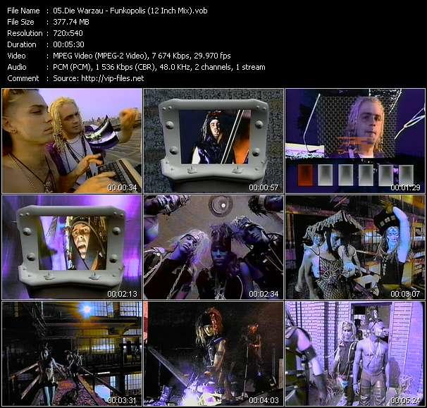 Die Warzau - Funkopolis (12 Inch Mix)