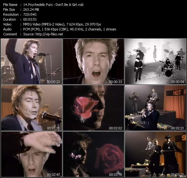 Psychedelic Furs - Don't Be A Girl