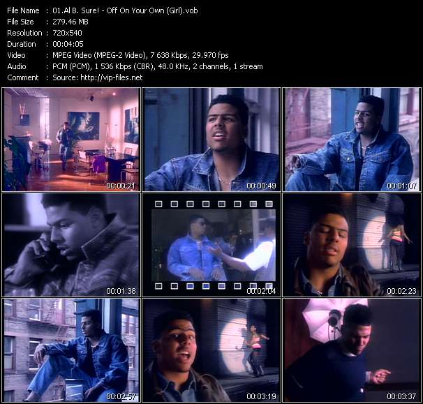 Al B. Sure! - Off On Your Own (Girl)