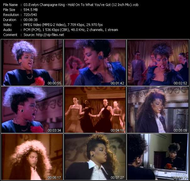 Evelyn King (Evelyn Champagne King) - Hold On To What You've Got (12 Inch Mix)
