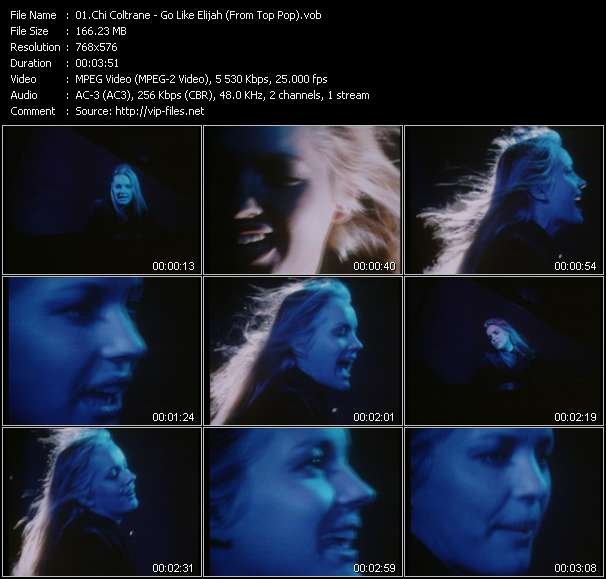 Chi Coltrane - Go Like Elijah (From Top Pop)