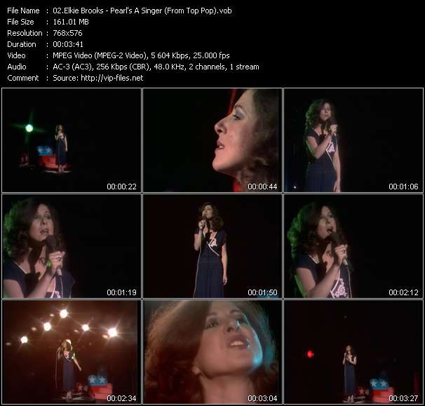 Elkie Brooks - Pearl's A Singer (From Top Pop)