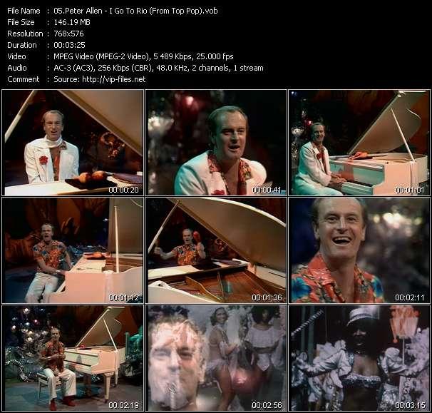 Peter Allen - I Go To Rio (From Top Pop)