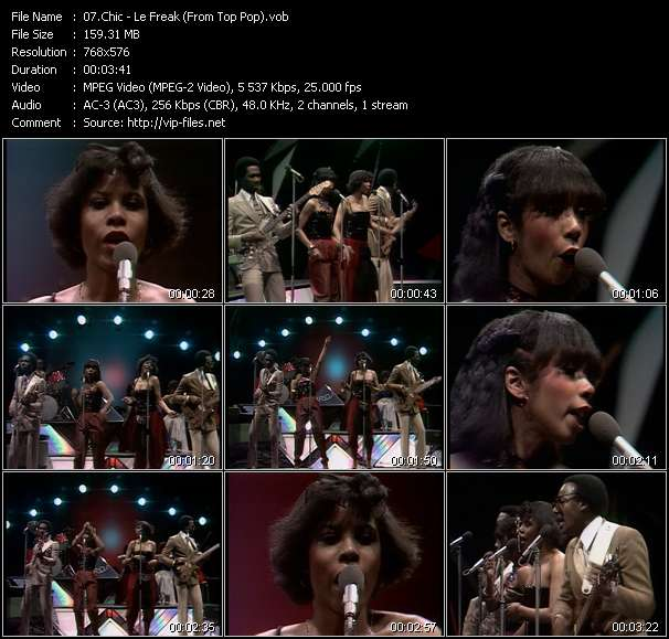 Chic - Le Freak (From Top Pop)