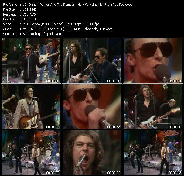 Graham Parker And The Rumour - New York Shuffle (From Top Pop)