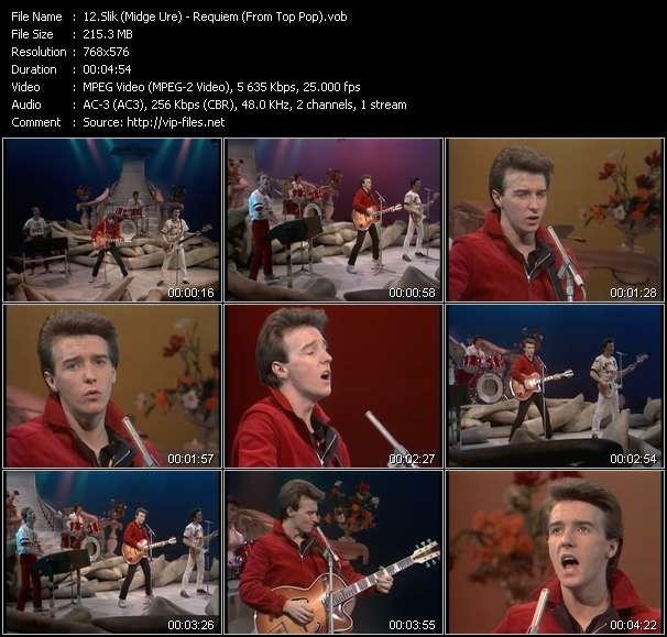 Slik (Midge Ure) - Requiem (From Top Pop)