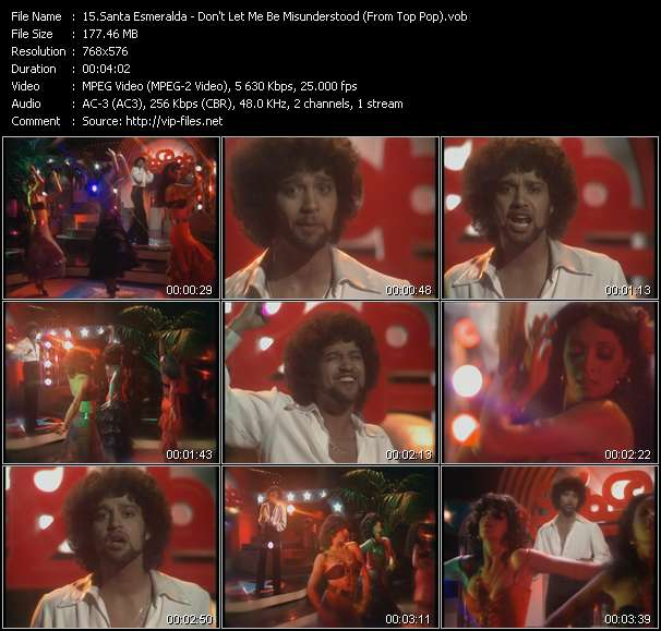 Santa Esmeralda - Don't Let Me Be Misunderstood (From Top Pop)