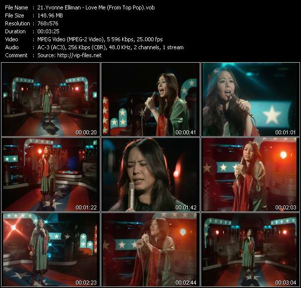 Yvonne Elliman - Love Me (From Top Pop)