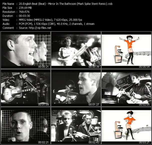 English Beat (Beat) - Mirror In The Bathroom (Mark Spike Stent Remix)