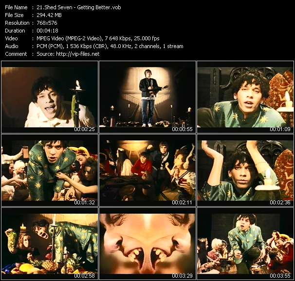 Shed Seven - Getting Better