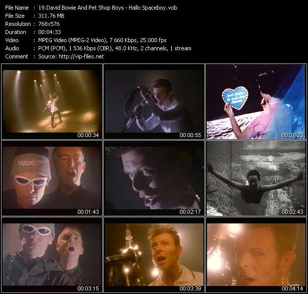 David Bowie And Pet Shop Boys - Hallo Spaceboy