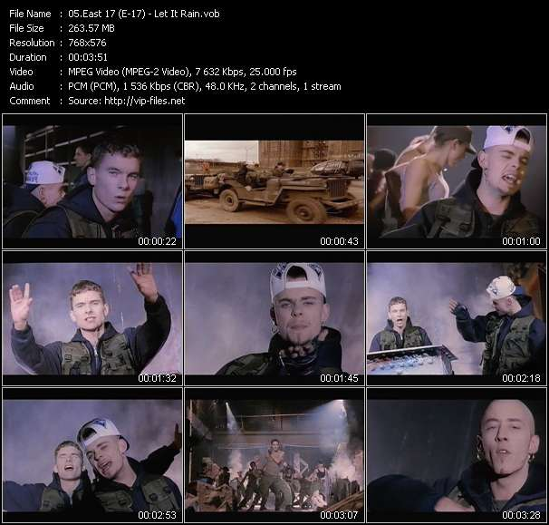 East 17 (E-17) - Let It Rain