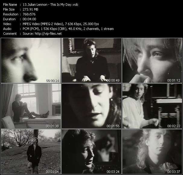 Julian Lennon - This Is My Day
