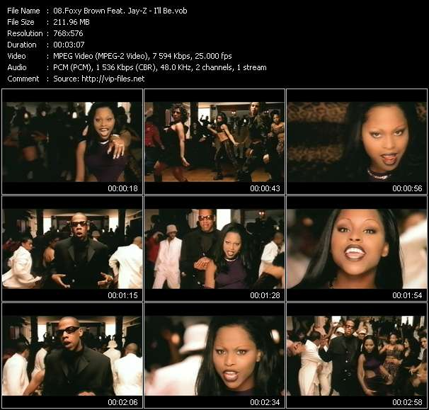 Foxy Brown Feat. Jay-Z - I'll Be