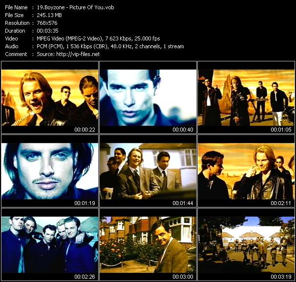 Boyzone - Picture Of You