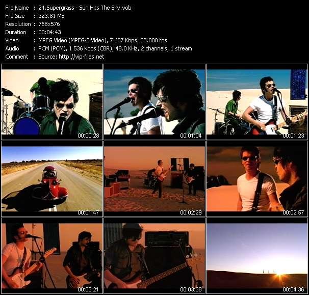 Supergrass - Sun Hits The Sky