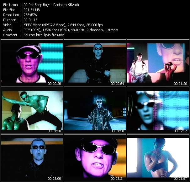 Pet Shop Boys - Paninaro '95
