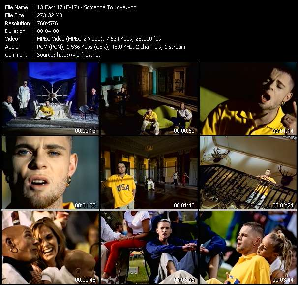 East 17 (E-17) - Someone To Love