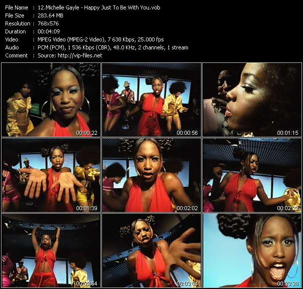 Michelle Gayle - Happy Just To Be With You