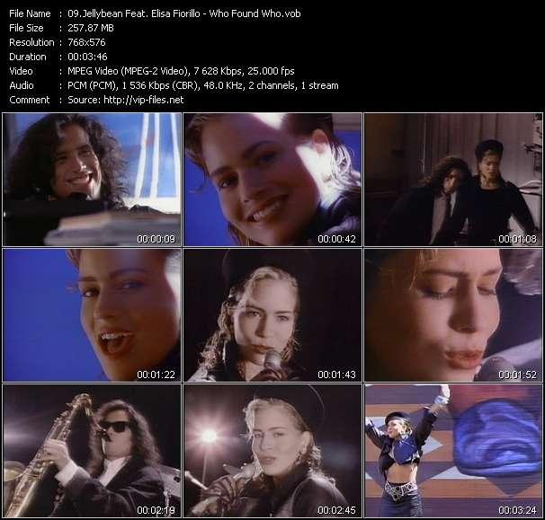 Jellybean Feat. Elisa Fiorillo - Who Found Who
