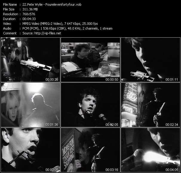Pete Wylie - Fourelevenfortyfour