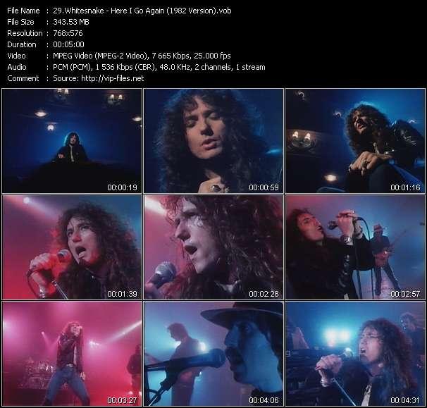 Whitesnake - Here I Go Again (1982 Version)