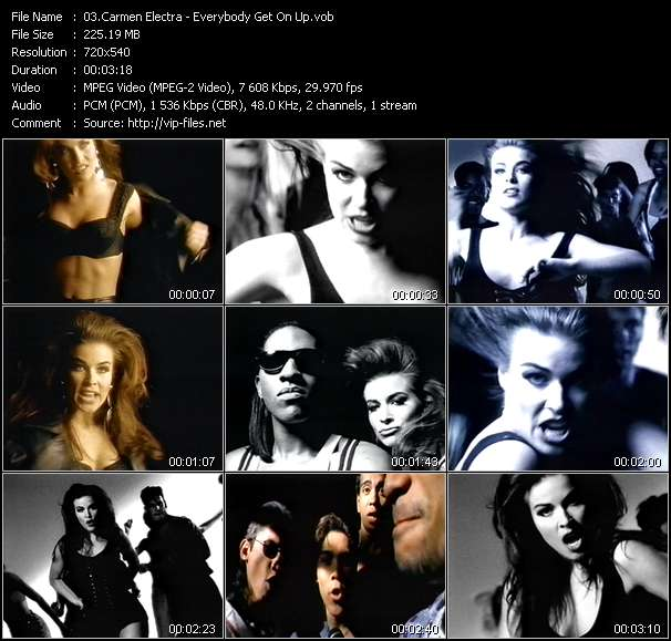 Carmen Electra - Everybody Get On Up