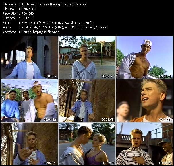 Jeremy Jordan - The Right Kind Of Love